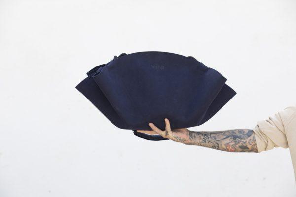 bolso vira zero blue navy presentacion